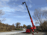 Rotating Telescopic Handler Manitou MRT 1742 MS