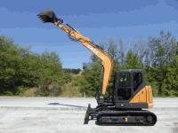 Tracked Excavator Case CX 80C