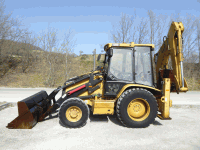Backhoe loader Caterpillar 432 D