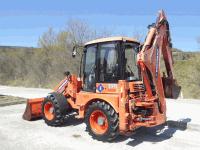 Backhoe loader Eurocomach E 398 T