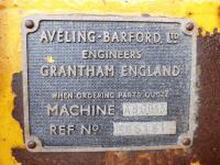 Grader Aveling Barford ASG013