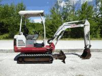 Mini excavator Takeuchi TB016