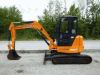Mini excavator Hanix H36CR