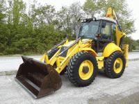 Backhoe loader New Holland LB 115 B